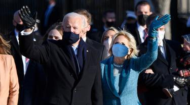 Parade Busana Wanita di Pelantikan Presiden AS, dari Jill Biden sampai Michelle Obama