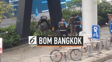 Dua bom mengguncang area sekitar stasiun skytrain di Bangkok, Thailand. Total ada enam bom yang meneror warga Bangkok hari ini.