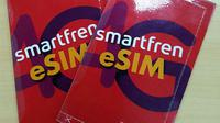 Smartfren perkenalkan eSIM pertama di Indonesia. (Doc: Smartfren)