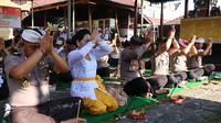 Polda Bali Gelar Doa Bersama Usir Covid-19
