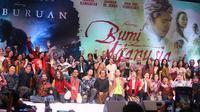Gala Premiere Film Bumi Manusia dan Perburuan di Surabaya (Sumber: Instagram/falconpictures_)