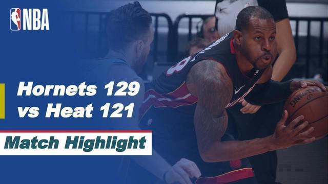 Berita Video Melihat Kemenangan Charlotte Hornets Saat Mengalahkan Miami Heat di NBA Hari Ini