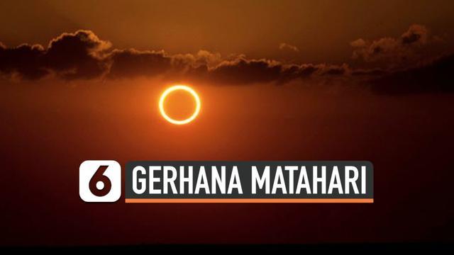 Selain Indonesia Gerhana Matahari Cincin Terakhir Pada 2019