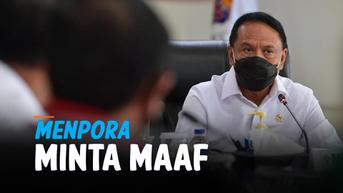 VIDEO: Menpora Minta Maaf Bendera Indonesia Tidak Berkibar di Piala Thomas