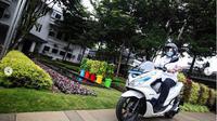 Kota Bandung menjadi salah satu tempat pengujian motor listrik. Sejulah 22 motor listrik rencananya akan digunakan untuk operasional Pemkot Bandung. (Dok: Humas Kota Bandung/Agvi Firdaus)
