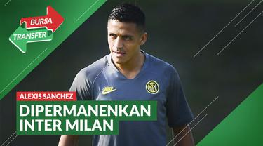 Berita Video Bursa Transfer: Alexis Sanchez Resmi Dipermanenkan Inter Milan dari Manchester United