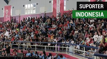 Berita video chant-chant gokil dan seru dari suporter Indonesia di Asian Games 2018.