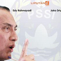 Banner Edy Rahmayadi Mundur (Liputan6.com/Triyasni)