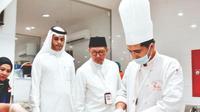 Menteri Agama yang juga Amirul Hajj memantau katering jemaah calon haji Indonesia. (www.kemenag.go.id)