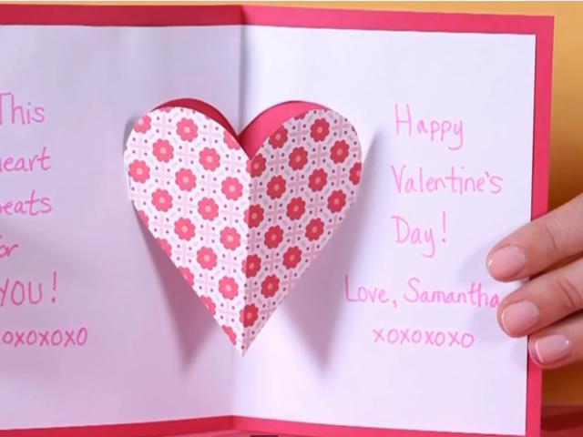 Cara Kreatif Dan Murah Membuat Kartu Ucapan Valentine