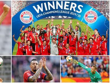FOTO: 5 Pemain yang Merasakan 2 Kali Treble Winner Bersama Bayern Munchen