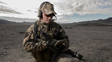 Tentara AS Andalkan Phablet Samsung di Medan Perang