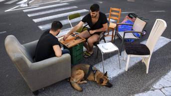 FOTO: Suasana Jalanan Israel Saat Hari Raya Yom Kippur