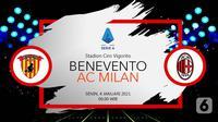 Benevento vs AC Milan (Liputan6.com/Abdillah)