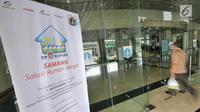 Suasana lokasi pendaftaran program rumah DP 0 rupiah di Kantor Wali Kota Jakarta Selatan, Kamis (1/11). Pendaftaran program rumah DP 0 rupiah atau Solusi Rumah Warga (Samawa) dibuka hingga 20 November 2018. (Liputan6.com/Herman Zakharia)