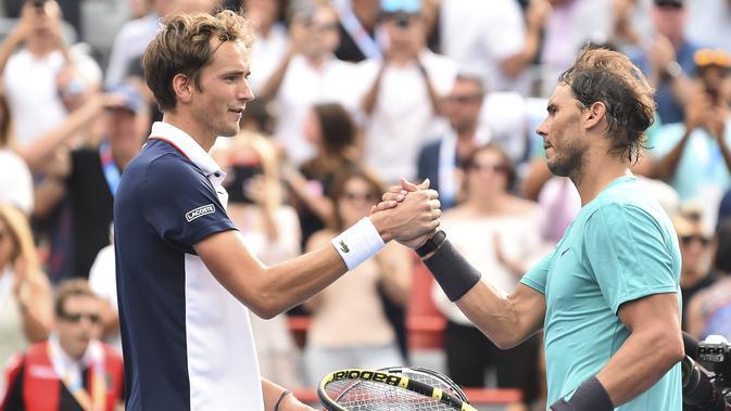 Rafael Nadal Enggan Remehkan Daniil Medvedev di Final AS Terbuka 2019 - Bola Liputan6.com