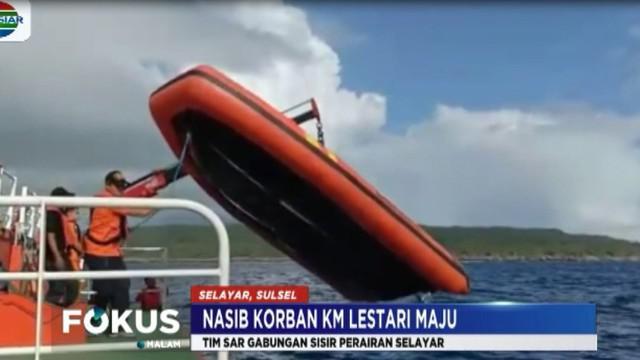 Sejauh ini dari 166  penumpang, 35 orang ditemukan tewas, sementara tiga  orang lainnya masih dalam  pencarian.