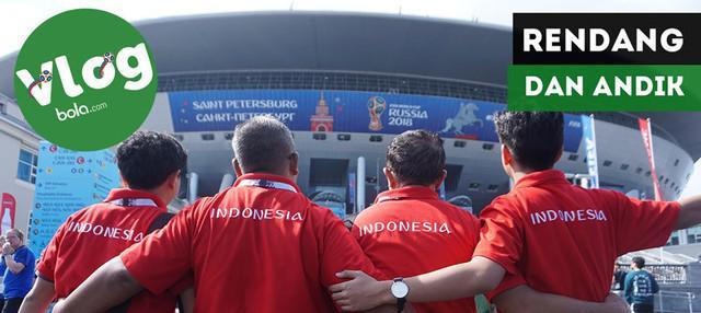 Berita video VLOG Bola.com kali ini ke laga perebutan tempat ketiga Piala Dunia 2018, Belgia vs Inggris, di mana terdapat kisah tentang rendang dan Andik Vermansah.