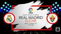 Real Madrid vs Elche (liputan6.com/Abdillah)