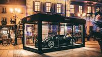 Bugatti La Voiture Noire jadi dekorasi natal (Carscoops)