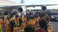 Raja Salman tiba di Bali. (dok. Kemenpar)