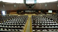 Ruang sidang utama Gedung DPR. (Liputan6.com/Faisal R Syam)