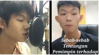 Remaja ini unggah video rap pakai materi sejarah, banjir pujian. (Sumber: Instagram/@ming_aa_ron_)