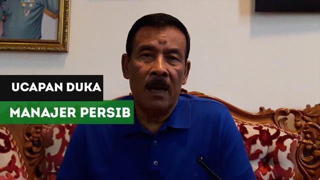 VIDEO: Berita Video Manajer Persib Bandung Sesalkan Insiden Meninggalnya Haringga Sirila