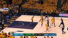 Berita video game recap NBA 2017-2018 antara Utah Jazz melawan Oklahoma City Thunder dengan skor 96-91.