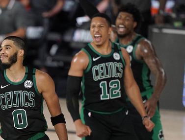 Taklukkan Raptors, Celtics Unggul 2-0 di Semifinal Playoff Wilayah Timur