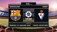 La Liga Barcelona Vs Eibar (Bola.com/Adreanus Titus)
