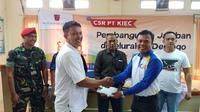 PT Krakatau Industrial Estate Cilegon atau biasa dikenal dengan PT KIEC mengadakan CSR PT KIEC berupa pembangunan 4 buah Jamban atau Water Close, Jumat (13/09/2019)