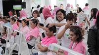 Biolage oleh Matrix Indonesia bersama Go Glam melakukan pelatihan kepada 100 beautician untuk layanan perawatan rambut (Biolage by Matrix Indonesia)