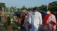 Bobby Nasution didampingi Kahiyang Ayu saat dilantik sebagai Wali Kota Medan