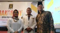 Bakal Calon Wali Kota Tangerang Selatan Siti Nur Azizah saat bertemu dengan jajaran pimpinan PKS Tangsel. (Istimewa)