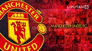 ilustrasi logo manchester united