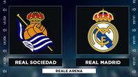 La Liga - Real Sociedad Vs Real Madrid (Bola.com/Adreanus Titus)