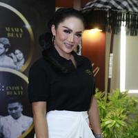 Krisdayanti di press conference konser tahun baru di The Patra Bali Resort and Villas, Senin, 31 Desember 2018 (Akrom-Kapanlagi)