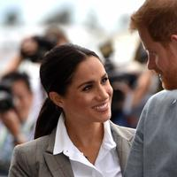 Meghan Markle - Pangeran Harry (PETER PARKS / POOL / AFP)
