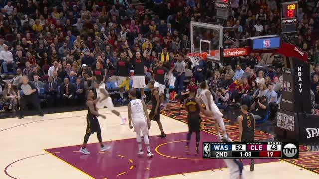 Berita video game recap NBA 2017-2018 antara Washington Wizards melawan Cleveland  Cavaliers dengan skor 110-103.
