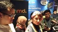 Kepala Pemasaran HMD Global Indonesia, Miranda Warokka, saat bertemu dengan rekan media di Jakarta, Kamis (24/5/2018). Liputan6.com/ Andina Librianty