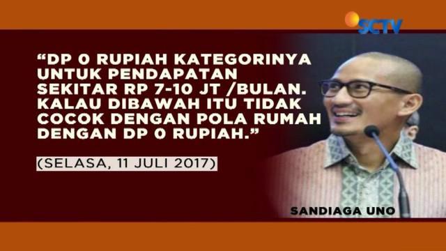 Janji rumah dengan DP 0 persen sempat dilontarkan gubernur dan wakil gubernur terpilih untuk warga Bukit Duri yang terkena relokasi.