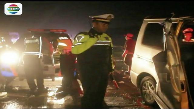 Berikut sejumlah nama korban kecelakaan maut di ruas Tol Cipali, kawasan Purwakarta, Jawa Barat, yang terjadi Jumat (16/3) malam.