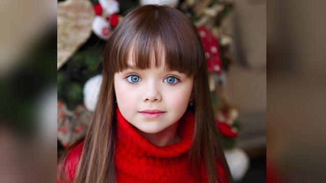 Model 6 Tahun Asal Rusia Dijuluki Bocah Tercantik di Dunia - Global ... b7d511a619
