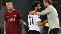 Radja Nainggolan tak bisa menyembunyikan kekecewaan setelah AS Roma gagal melangkah ke final Liga Champions. (doc. UEFA)