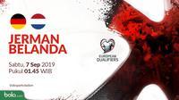 Kualifikasi Piala Eropa 2020 - Jerman Vs Belanda (Bola.com/Adreanus Titus)