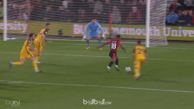 Berita video highlights Premier League antara Bournemouth melawan Brighton & Holve Albion dengan skor 2-1. This video presented by BallBall.