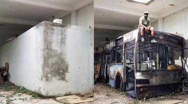 Karya Seniman Grafiti Ini Nampak Sangat Nyata, 6 Hasilnya Bikin Takjub