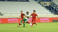 Penampilan Timnas Indonesia saat melawan Thailand pada matchday ketujuh Grup G Kualifikasi Piala Dunia 2022 Zona Asia di Al Maktoum Stadium, Dubai, Uni Emirat Arab (UEA), Senin (7/6/2021) malam WIB. (Dok PSSI)