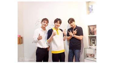 Suho, Chen dan Kai EXO Datang ke Jakarta, Dapat Batik Hingga Bocoran Project Baru
